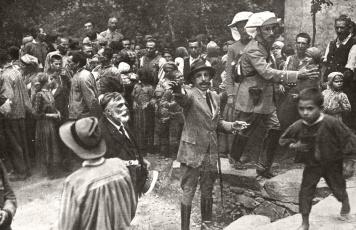 Alfonso XIII en las Hurdes