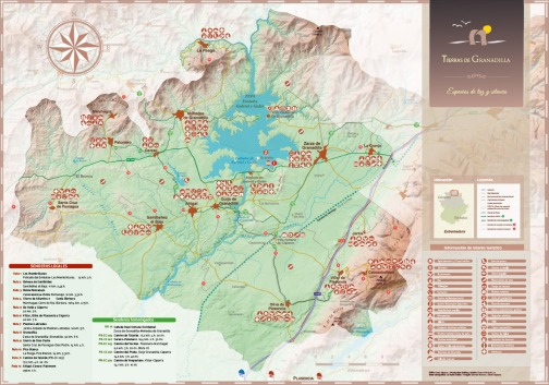 Trasierra Mapa