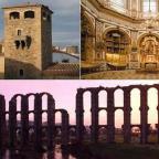 Rutas Histórico – Artísticas: Las Ciudades Patrimonio de la Humanidad en Extremadura (Cáceres, Guadalupe y Mérida).