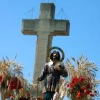 Romería de San Isidro en Fuente de Cantos (Badajoz) y Valencia de Alcántara (Cáceres). Fiesta de Interés Turístico Regional  (15 de Mayo).