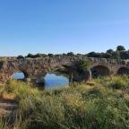 Puente de San Miguel sobre la Charca del Lancho (Arroyo de la luz)