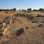 Revisión estructuras romanas (Asentamiento tardorromano o Villa). Casar de Cáceres
