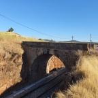 Puente sobre el Ferrocarril (Aldea Moret, Cáceres)
